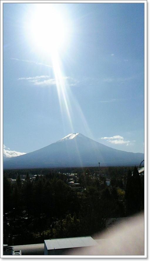 富士山に・・・