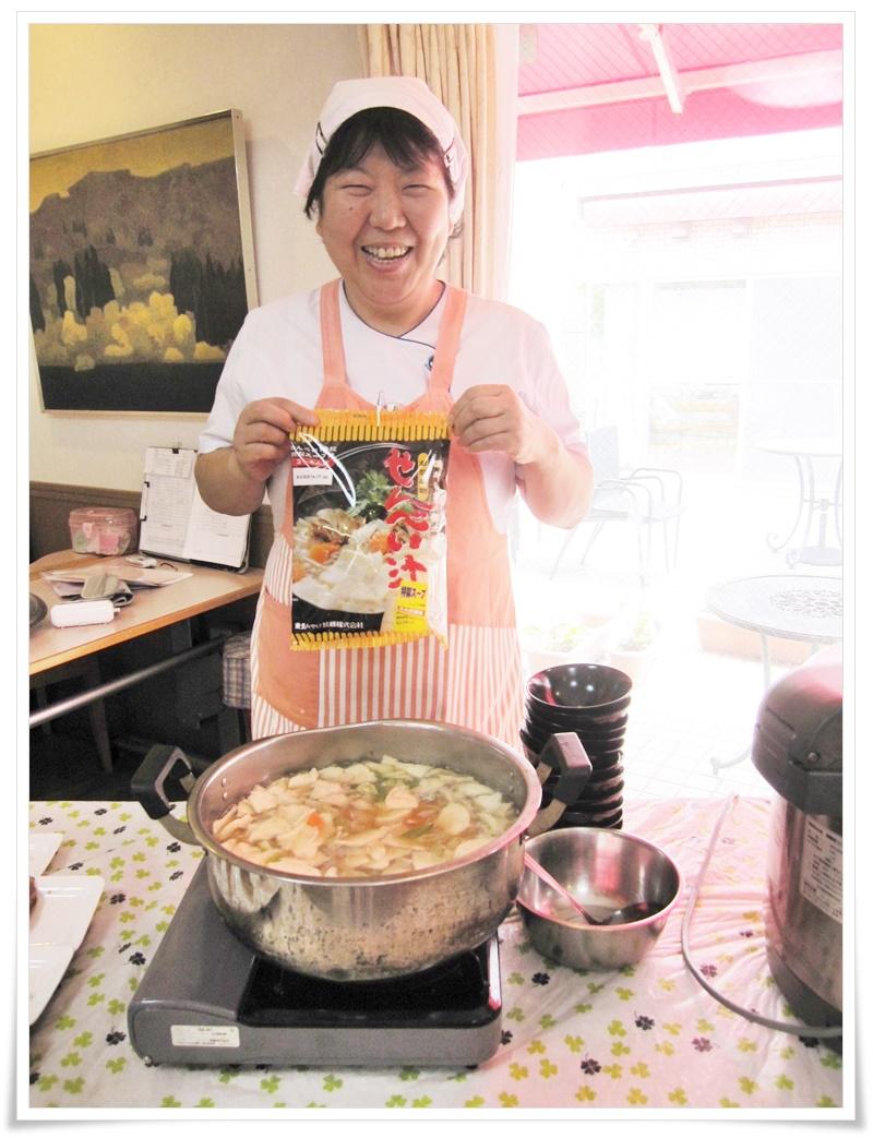 郷土料理青森県のせんべい汁