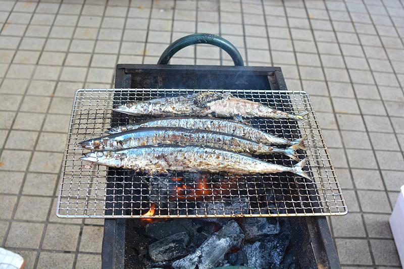 秋刀魚祭り~東北復興支援イベント~開催