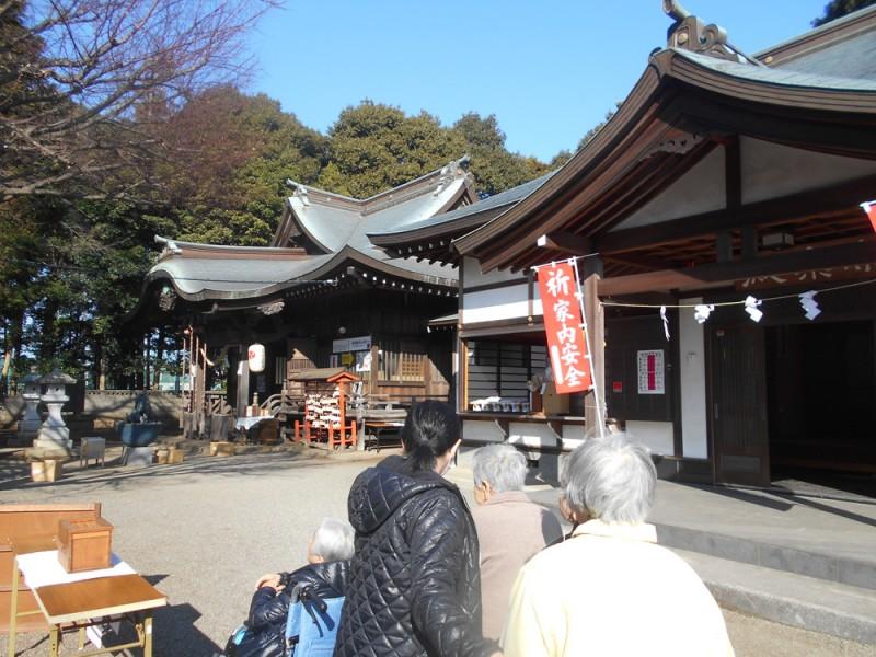 矢部八幡宮に初詣に行って来ました。
