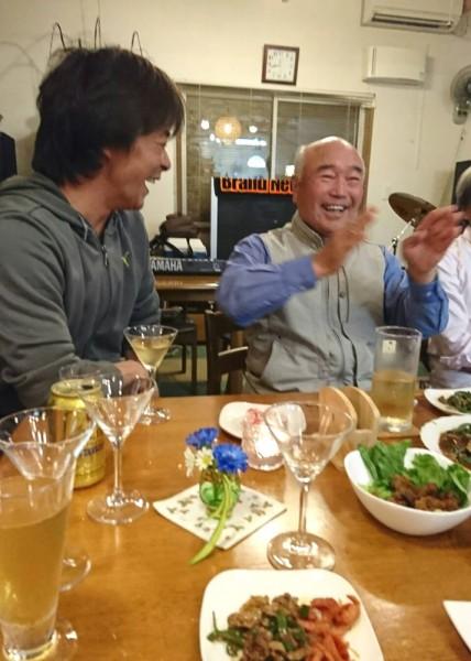 小山田ダンディーの会の皆様との地域懇談会