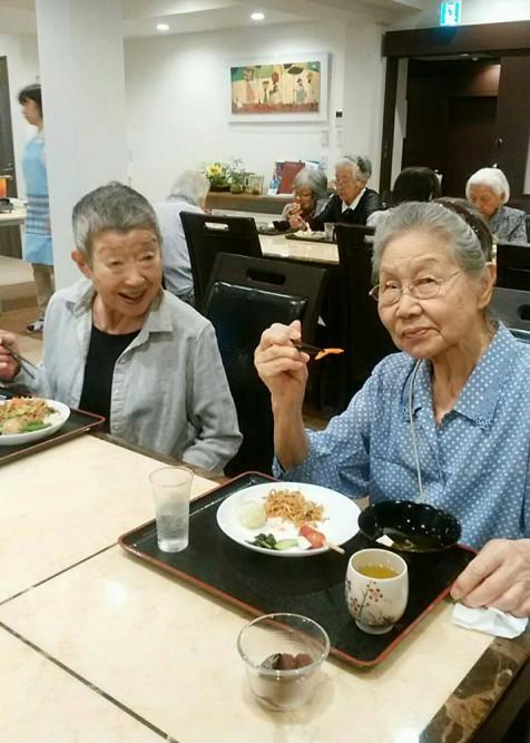 サービス付き高齢者向け住宅、清住の杜町田の今月のバイキング