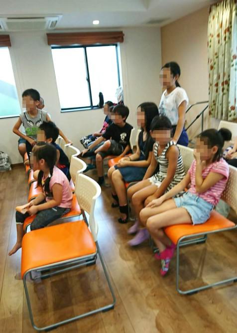 清住平自治会と小山田小学校の郊外委員さんによる、「こどもの家」