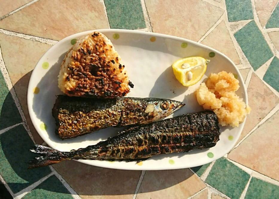 秋刀魚祭りを開催