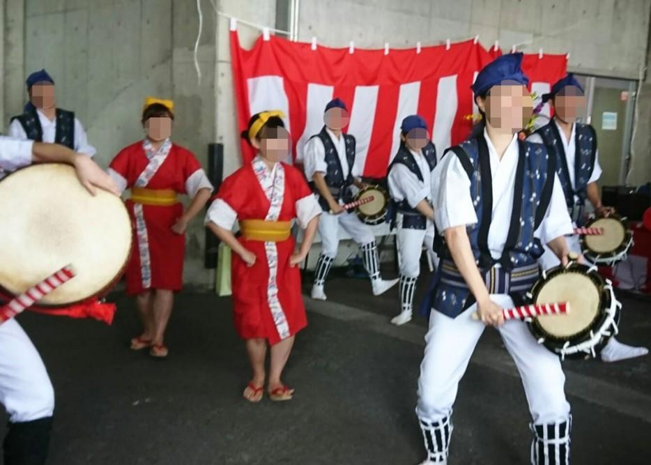 多摩丘陵病院の第一回地域交流祭り