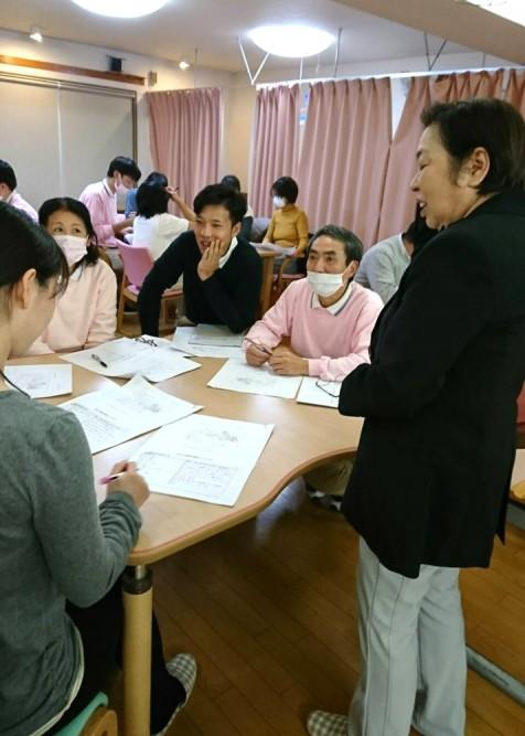宇都宮短期大学准教授、山屋恵美子様による、安全確保とリスクマネジメント研修