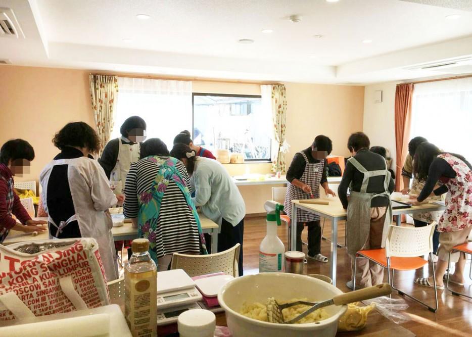 12月の手作りパン教室