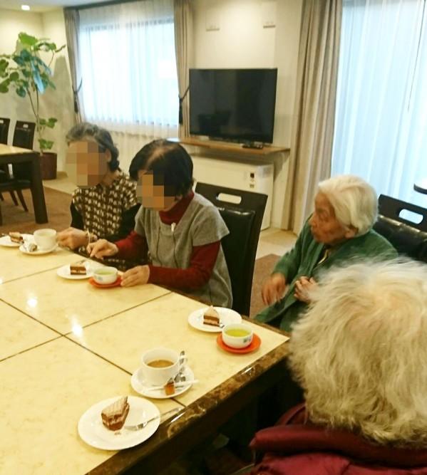清住の杜町田でお茶会