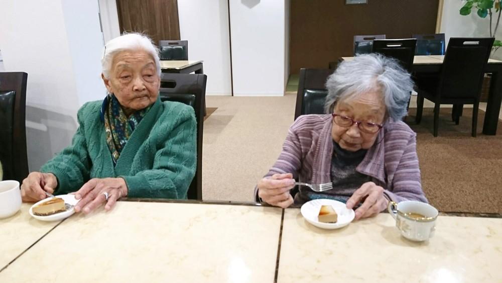 サービス付き高齢者向け住宅、清住の杜町田でお茶会