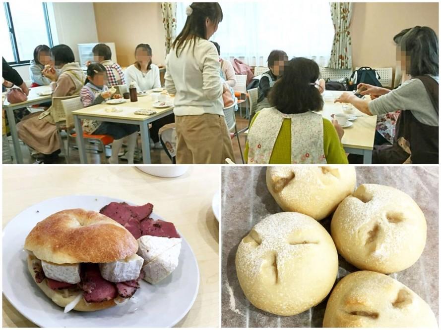3月の手作りパン教室