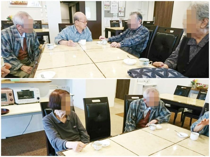 サービス付き高齢者向け住宅、清住の杜町田の4月のお茶会