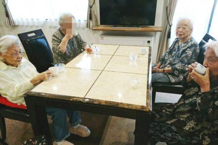 8月の清住の杜町田のお茶会