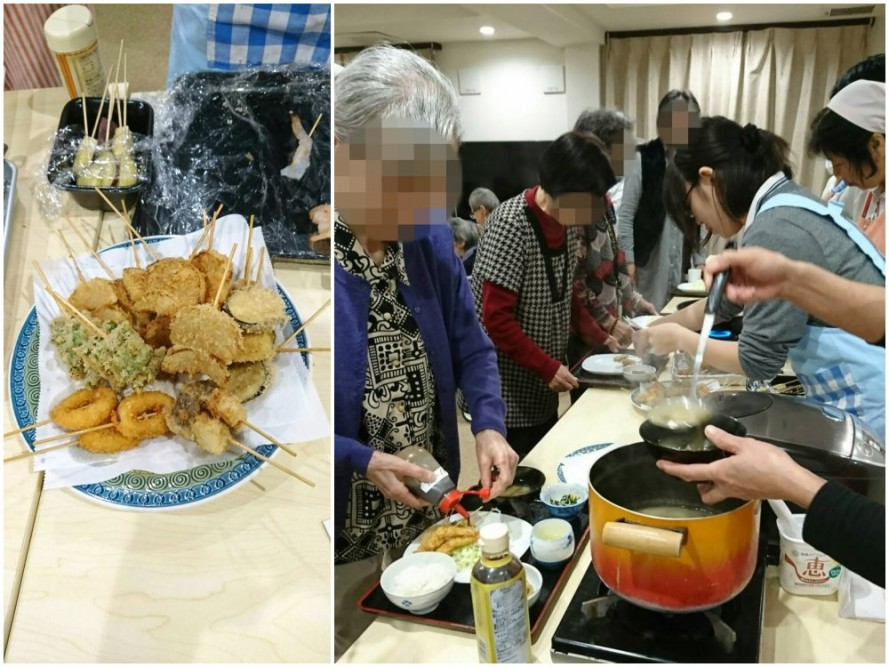 サービス付き高齢者向け住宅、清住の杜町田の11月のバイキング