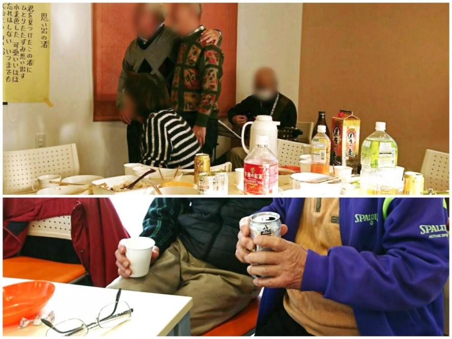 地域サロン清住の忘年会に参加