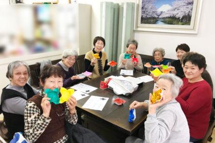 3月16日土曜日の折り紙教室