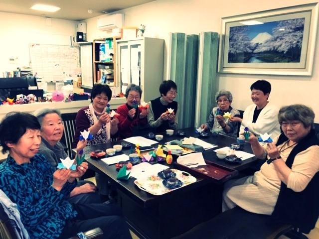 4月折り紙教室