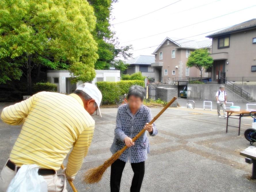 地域の掃除