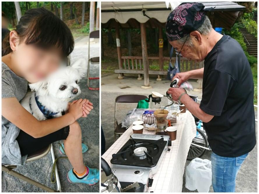 清住平自治会の、東日本、熊本震災復興支援バザー