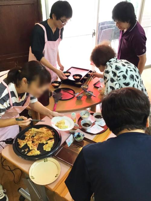 手作り昼食企画