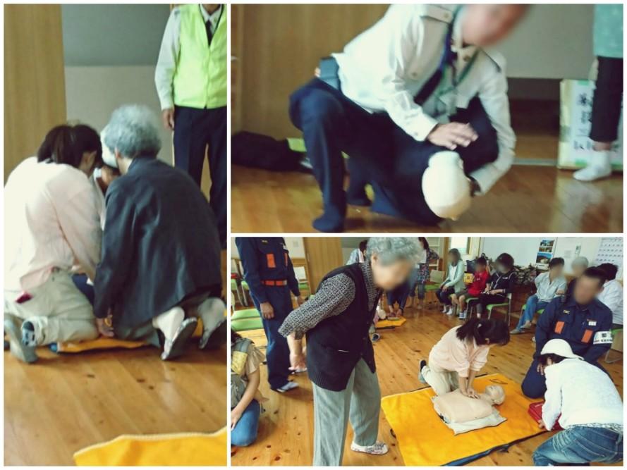下小山田町内会の防災訓練