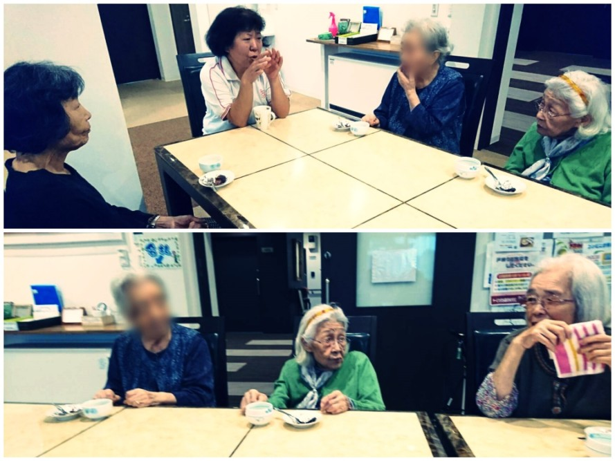 サービス付き高齢者向け住宅、清住の杜町田のお茶会