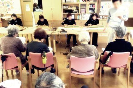ボランティアの方による大正琴の演奏会