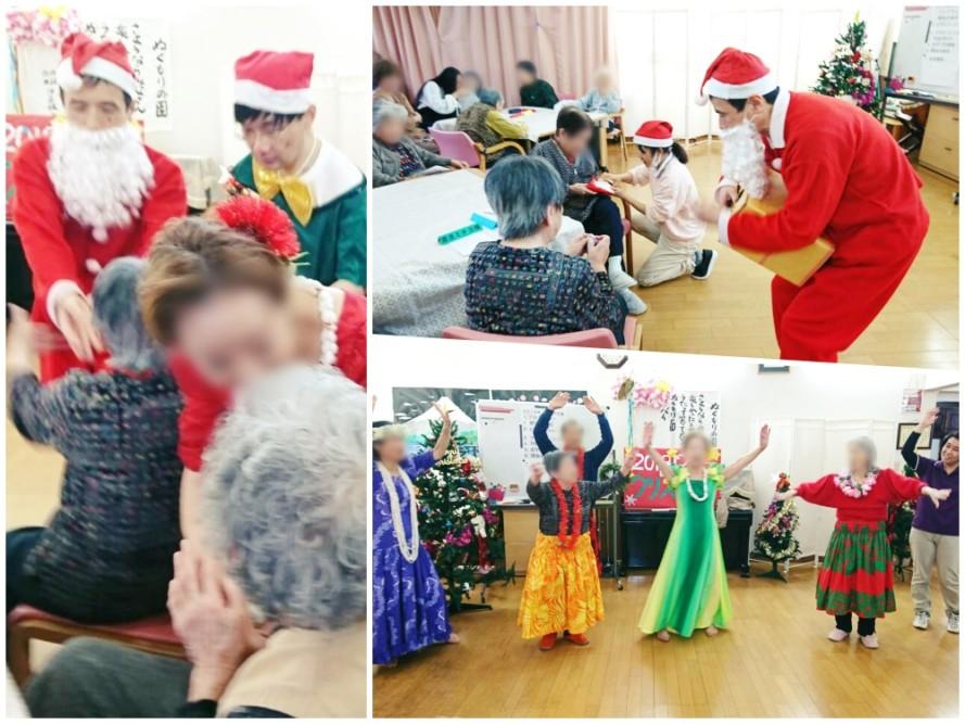 グループホームのクリスマス会