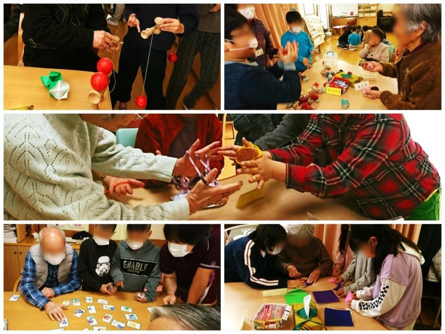 今年も小山田南小学校の四年生がデイサービスに来てくれました
