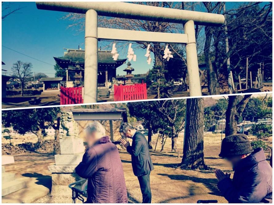 小山田神社に初詣