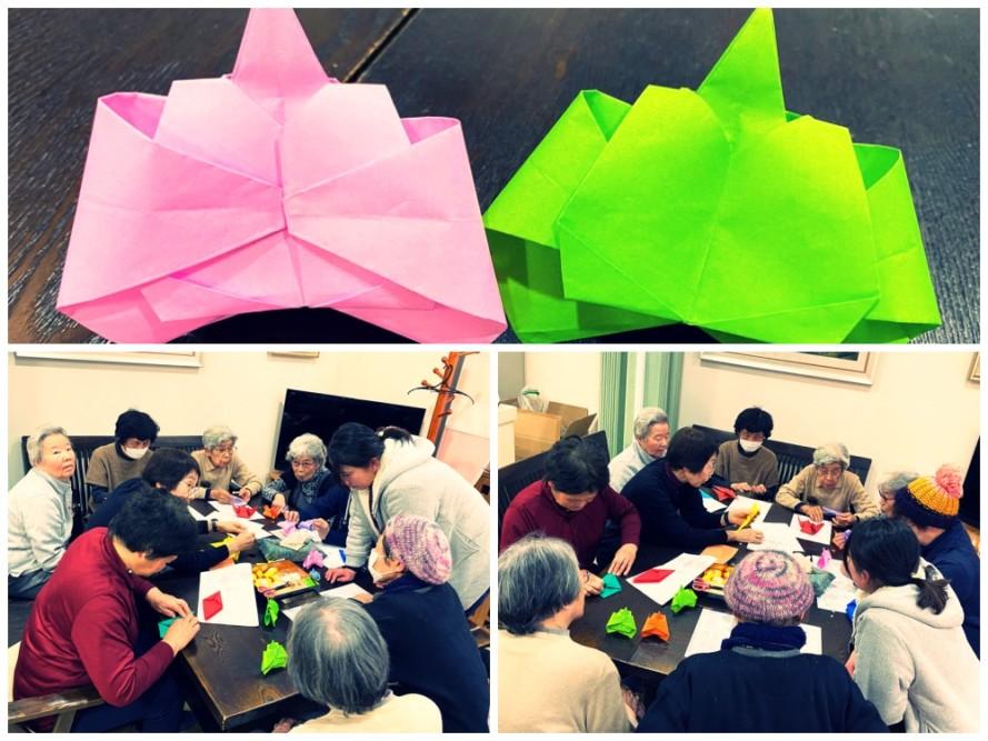 2月の折り紙教室