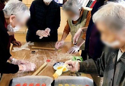 調理レクリエーション~手作りクッキー