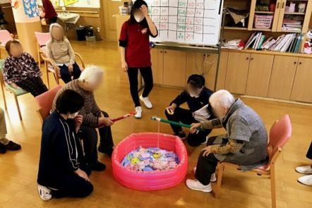 教師を目指している大学生が介護実習に来ました。