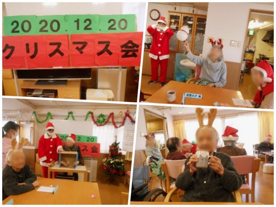 クリスマス会を12月20日(日)に行いました。