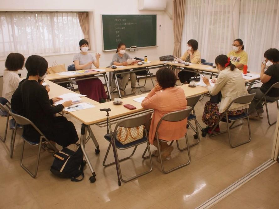 子ども食堂、さくらんぼうのスタッフミーティングに参加